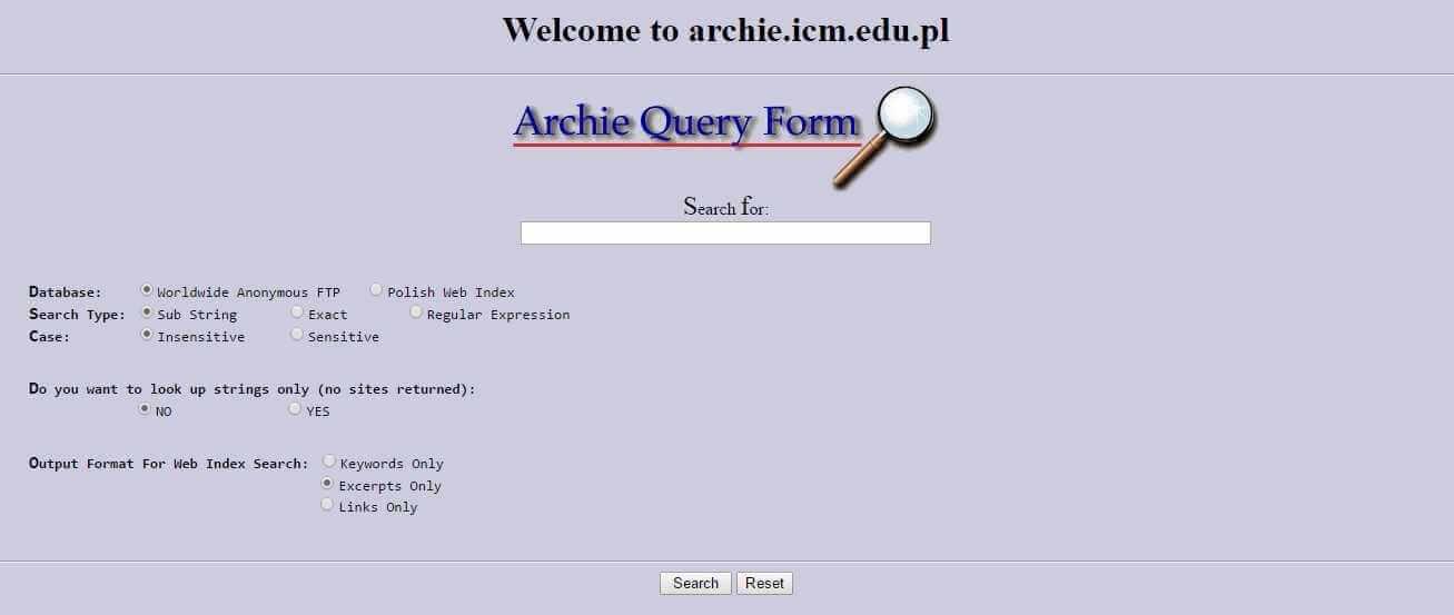 История поисковых систем от создания и развития до наших дней
